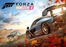 Forza Horizon 4 Poster, New Hit 2018 PS4 & Xbox Game, FREE P+P, CHOOSE YOUR SIZE