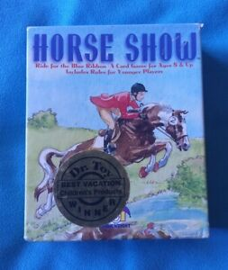 Horse Show Card Game By Gamewright 100% Complete Great Condition