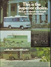 1971 Print ad for Superior Motor Homes photo (092616)