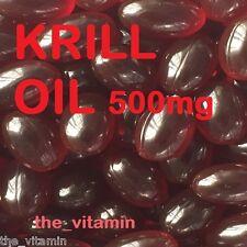 """Superba ROTES KRILLÖL 500mg 90 Kapseln """"The Vitamin"""" (L)"""