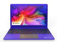 "NEW 14.1"" Gateway Ultra Slim Intel i3 128GB SSD 4GB RAM Windows 10 Home Purple"
