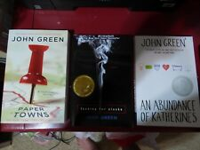 JOHN GREEN LOT 3 BOOKS Trade Paperback: Towns/Alaska/Katherines NEW Giftable