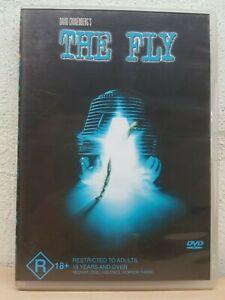 David Cronenberg The Fly DVD 1986 Jeff Goldblum RARE MOVIE - REGION 4 AUSTRALIA