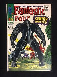 FANTASTIC FOUR #64 FN/VF 7.0 1st mention of the Kree race 1st SENTRY Marvel 1967