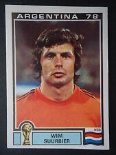 Panini 112 Wim Suurbier Niederlande WM 78 World Cup Story
