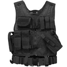 Mil-Tec Usmc Tactical Vest w/ Molle Attachment Airsoft Combat Assault Black