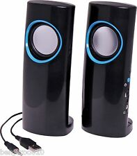 6W USB Stereo Desktop Computer Speakers D0806A ALTRONICS
