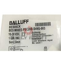 New Balluff BES M08EE-PSC20B-S49G-003 M8 Inductive Sensor DC PNP NO Flush 2mm