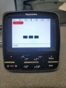 raymarine p70 autopilot control head display