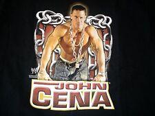 2005 WWE John Cena Chain Gang Soldier T-Shirt L Large WWF NXT Hustle Loyalty