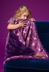 Bizzi Growin Koochicoo Blanket / Shawl - Fantasia Purple