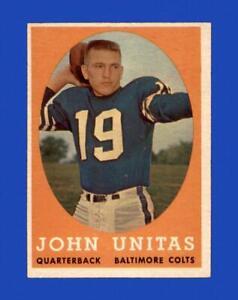 1958 Topps Set Break # 22 Johnny Unitas EX-EXMINT *GMCARDS*