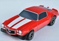 AFX 22002 Chevy Camaro SS350 Red Mega G+ HO Scale Slot Car Auto World AFX22002