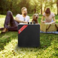 Mini Guitar Amplifier Portable Speaker Sound Amp 5W 9V F Electric Guitar Ukulele