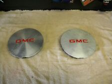 1995 - 2004 GMC Sonoma / Jimmy  Wheel Center Cap - 1 pair -- Silver