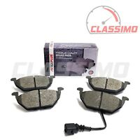 Front Brake Pads for AUDI A2 + A3 8L - 1.4TDi, 1.6, 1.8, 1.9TDi - 1996 to 2005