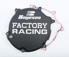 Factory Racing Clutch Cover Black Boyesen CC-11AB For 03-05 Kawasaki KX125