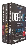 Steve Cavanagh 3 Books Eddie Flynn Thriller Mystery Series Plea Liar Defence New