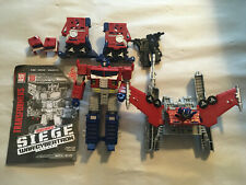Transformers War For Cybertron Siege GALAXY UPGRADE OPTIMUS PRIME LOOSE COMPLETE