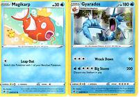 Rebel Clash - Pokemon Evolution Card Set - Gyarados 040/192 - Sword Shield Holo
