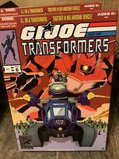 SDCC 2012 Hasbro Exclusive G.I. Joe Transformers Shockwave Hiss Tank w/Destro