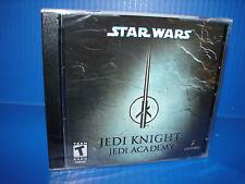 Video Game PC Star Wars Jedi Knight Jedi Academy NEW SEALED Jewel Case