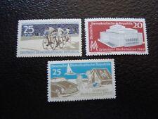 ALEMANIA (rda) - sello yvert/tellier N° 496 a 498 N MNH (AL1)