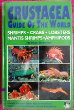 BOOK- Crustacea Guide of the World by Helmut Debelius- RARE 2001 UPDATED EDITION