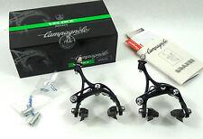 Campagnolo Veloce Brake Caliper set 10 Speed Skeleton Black Vintage Bike  NOS