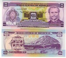 HONDURAS billet neuf de 2 LEMPIRAS Pick80 e ILE  du tigre port de AMAPALA