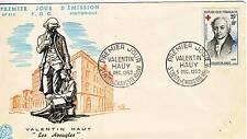 PREMIER JOUR VALENTIN HAUY LES AVEUGLES SAINT JUSTE EN CHAUSSE 1959