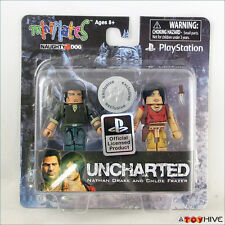 Uncharted Minimates Drake and Chloe Sony Playstation Toys R Us exclusive