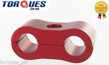 Nitrous, NOS, Turbo Oil Feed 8mm Red Hose Separator
