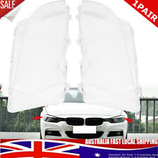 Pair Front Headlight Lens Cover For BMW E46 3 series 4DR 02-05