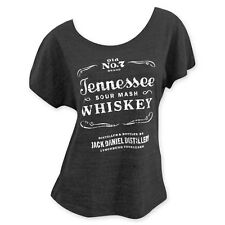 27955d4f62e Jack Daniels Loose Fit Women s Sourmash Whiskey T-Shirt Grey