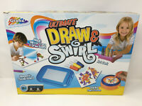 Grafix Ultimate Draw And Swirl Art Gift Set Magnetic Drawing Craft Creative NEW