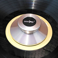 TC-02 Acoustics LP Vinyl Turntables Metal Clamp Disc Stabilizer Record silver