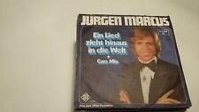 45T JURGEN MARCUS---EIN LIED ZIEHT HINAUS IN DIE WELT---