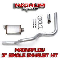 "2007-2015 Ford F150 F250 Truck 3/"" Single Exhaust Kit Magnaflow Muffler"