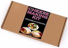 2 x fabbricazione del formaggio KIT mozzarella & RICOTTA Grande regalo di compleanno