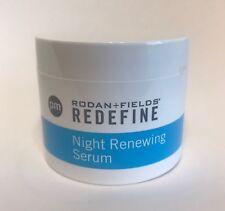 Rodan and Fields Night Renewing Serum 60 Capsules New In Box Free Fast Shipping