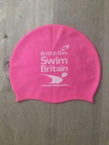 Swimming Cap Fluorescent Pink