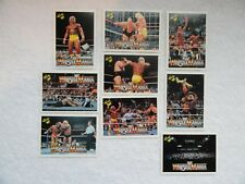 Hulk Hogan Macho Man Andre The Giant ++ 1990 Classic WF Wrestle Mania 9 Card Lot