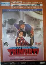 TRIMURTI - BOLLYWOOD DVD - Jackie Shroff, Anil Kapoor, Shahrukh Khan.