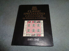 SCOTT CLASSIC SPECIALIZED CATALOGUE, 1840-1940, HARDBACK, 2018