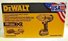 DEWALT 20V MAX XR Brushless High Torque 1/2-Inch Impact Wrench Kit - DCF899HP2