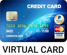 Vcc for paypal virtual card paypal verification works worldwide🔰fast delivery🔰