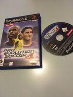 ❤️ Jeu Playstation 2 Ps2 Pal Fr Pes 4 Pro Évolution Soccer 4