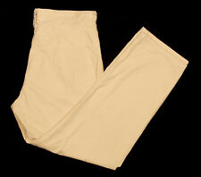 Mens REPLAY 901 Pants 38x30 in Sunwashed Yellow Cotton 5-Pocket Twill ITALY