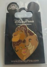 Pin's Disney Simba Roi Lion
